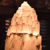 Image of Selenite Lamp