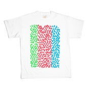Image of ISOMETRIC GRADIENT T-SHIRT - LTD EDITION
