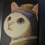 Image of The Cat with the Pearl Earring Diary