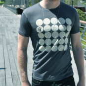 Image of Carry Monster Dots T-shirt by Corky