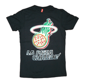 Image of T-Shirt La Pizza Chaude (designed by Fake) Black