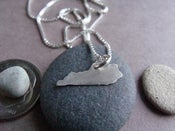 Image of Tiny Kentucky State Necklace