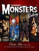 Image of FAMOUS MONSTERS GALLERY- DARK ARTS VOLUME 1