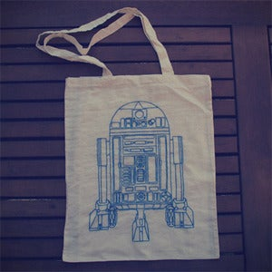 Image of Star Wars R2D2 Tote Bag