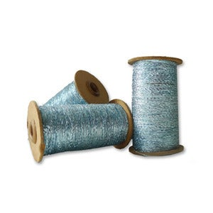 Image of Vintage spools of metallic string