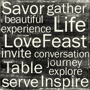 Image of LoveFeast Canvas
