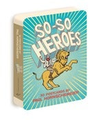Image of So-So Heroes Postcard Book