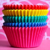 Image of Rainbow Cupcake Liner Set