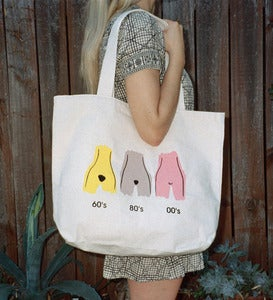 Image of EVOLUTION OF THE MUFF Tote Bag