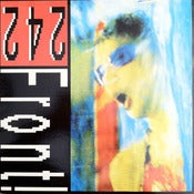 Image of FRONT 242-Never Stop 12&quot; VINYL/ Rare out of Print