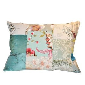 Image of Heidi Awford: Patchwork cushion woodland range