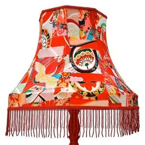 Image of Heidi Awford: Kimono Lamp and Lampshade