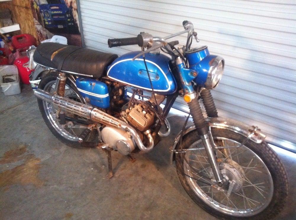 125 two stroke parts bike