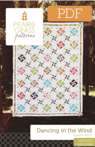 Image of Dancing in the Wind: PDF Quilting Pattern #101