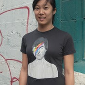 Image of steve-in-sane (steve jobs bowie mashup tee)
