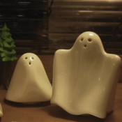 Image of Ghost Salt and Pepper Shaker Set