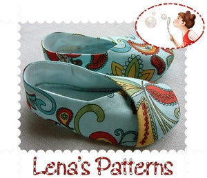 Lena's Sewing Patterns — Baby Kimono shoes sewing pattern