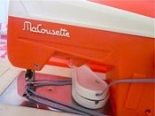 Image of 1970s French MaCousette Children's Sewing Machine