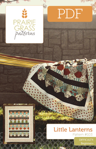 Image of Little Lanterns: PDF Quilting Pattern #103