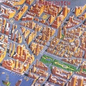 Image of The Map of Shoreditch as New York (Limited Edition Print)
