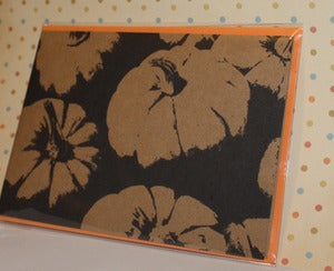 Image of Pumpkins note card