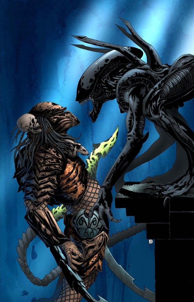 aliens vs predator drawings - photo #24