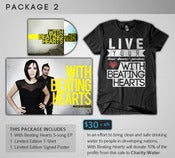Image of DELUXE:  With Beating Hearts • Package 2