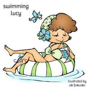 Image of Swimming Lucy