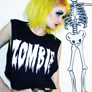 Image of ZOMBIE CROP TOP 
