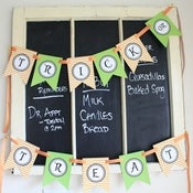 Image of Printable Halloween Trick or Treat Banner