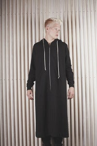 Image of DRKSHDW by RICK OWENS <br> SWEATSHIRT CLOAK <br> was 525€