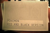 Image of Pokemon Red and Black Version