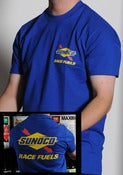 Image of Sunoco T-shirt Blue
