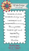 Image of Pinwheel Sentiments Stamp Set