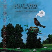 Image of Sally Crewe &amp; The Sudden Moves - Transmit / Receive CD EP  (8-Track Mind)