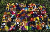 Image of Kenya Patchwork baby mat, throw rug, picnic blanket