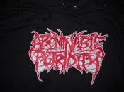 Image of ABOMINABLE PUTRIDITY HOODIE NOW IN STOCK