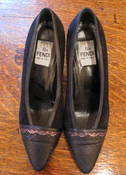 Image of Fendi 80s pumps SZ 37.5 NOW 40% off