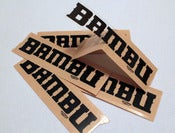 Image of Bambu Logo Stickers - Clear (5-pack)