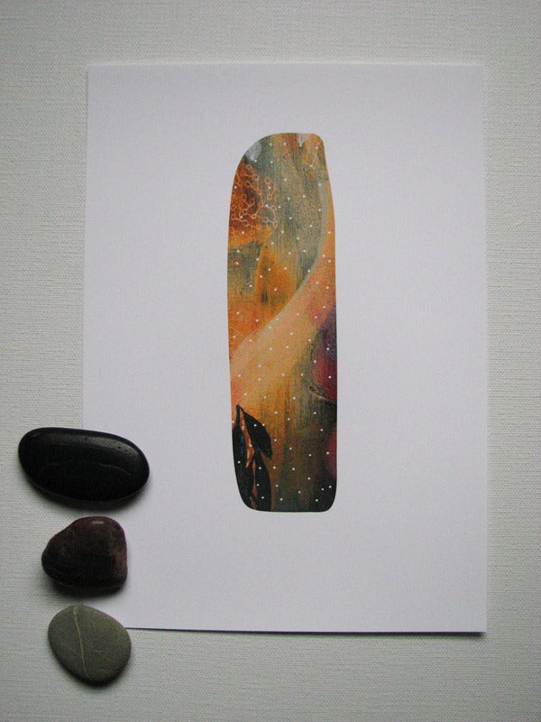 Image of ochre stone  {limited edition print}