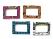 Image of African Fabric Photo Frames