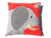 Image of Elephant Safari Kids Cushion Cover