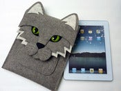 Image of Cat - iPad sleeve - MADE TO ORDER
