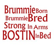 Image of Brummie Born - Bostin in Bed