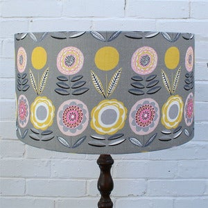 Image of Large Lampshade in Lollipops Fabric - Made to Order