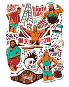 Image of Group Wrestlers