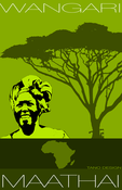 Image of Tribute to Nobel Laureate - Prof. Wangari Maathai