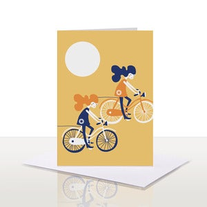 Image of Freewheelin' Note Card