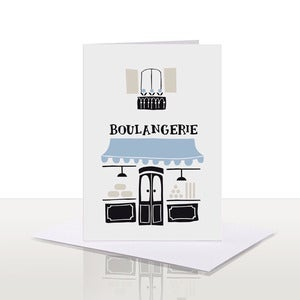 Image of Boulangerie Note Card | 75% OFF