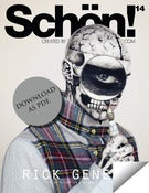 Image of Schön! 14 - Rick Genest / eBook download
